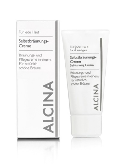 Obrázek Alcina - Samoopalovací krém 50 ml