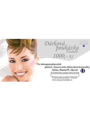 Obrázek Dárková poukázka v hodnotě 1.000 Kč