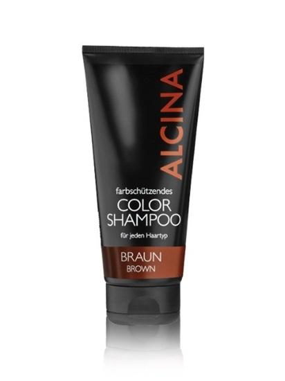 Obrázek Alcina - Barevný Color šampon - Hnědý 200 ml