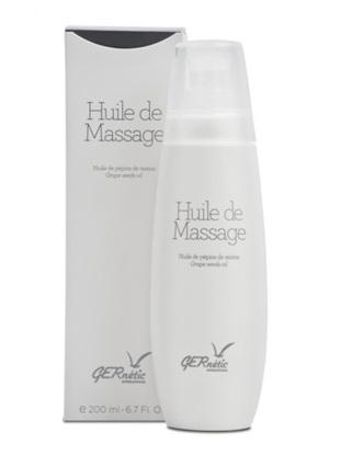 Obrázek Gernétic - Huile de Massage - Masážní olej z hroznových semen, 200 ml