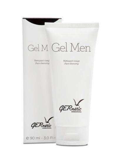 Obrázek Gernétic - Gel Men - Čistící pleťové gelové mýdlo / Sprchový gel pro muže, 90 ml