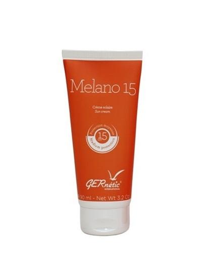 Obrázek Gernétic - Melano 15 - Opalovací regenerační krém na obličej, SPF 15+, 90 ml