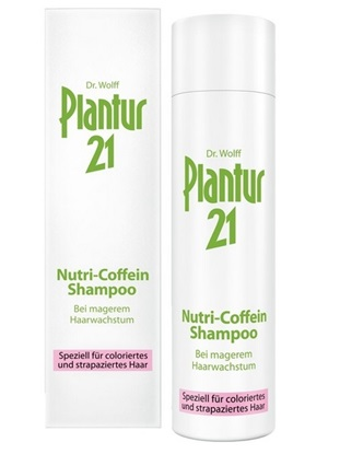Obrázek Plantur 21 Nutri-kofeinový šampon 250 ml