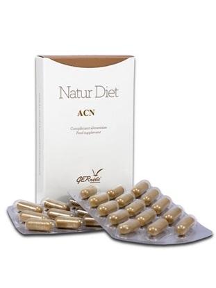 Obrázek Gernétic - Natur Diet ACN - Doplněk stravy pro aknetickou a problematickou pleť, 30 tbl.