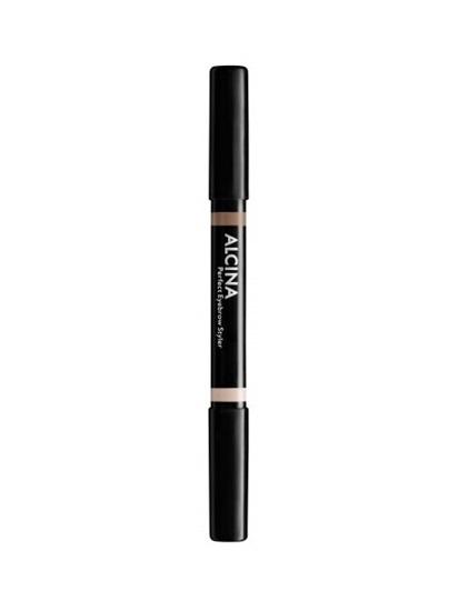 Obrázek Alcina - Oboustranná tužka na obočí - Perfect Eyebrow Styler - 010 Light 1 ks