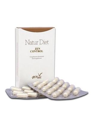 Obrázek Gernétic - Natur Diet ZEN CONTROL - Doplněk stravy s výtažky z rostlin, hořčíkem a vitaminem B6, 30 tbl.