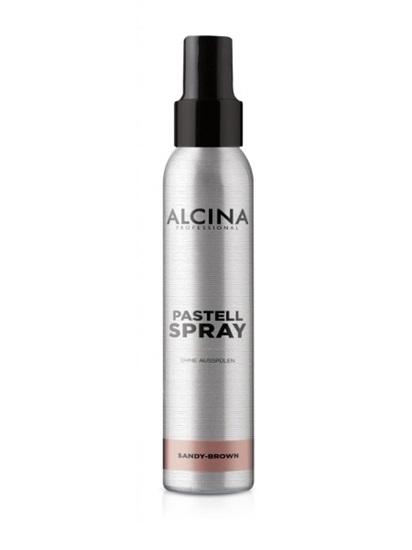 Obrázek Alcina - Tónující sprej s okamžitým účinkem - Pastell Spray Sandy-Brown 100 ml