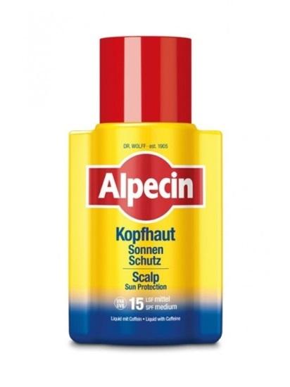 Obrázek Alpecin Scalp Sun Protection - Liquid na ochranu pokožky hlavy před slunečním zářením a proti vypadávání vlasů 100 ml