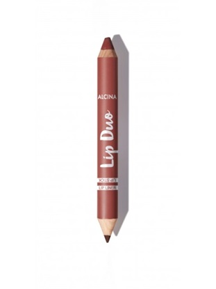 Obrázek Alcina - Oboustranná tužka na rty -  Lip Duo Cinnamon brown 1 ks