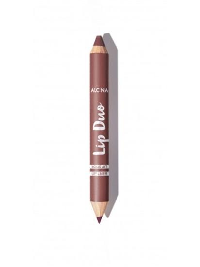 Obrázek Alcina - Oboustranná tužka na rty -  Lip Duo Berry nude 1 ks