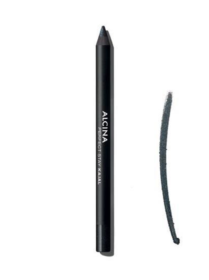 Obrázek Alcina - Dlouhodržící kajalová tužka na oči - Perfect stay kajal - Cosmic black 1 ks