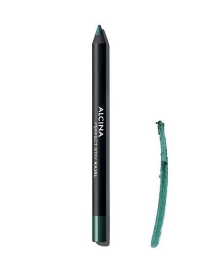 Obrázek Alcina - Dlouhodržící kajalová tužka na oči - Perfect stay kajal - Dark green 1 ks