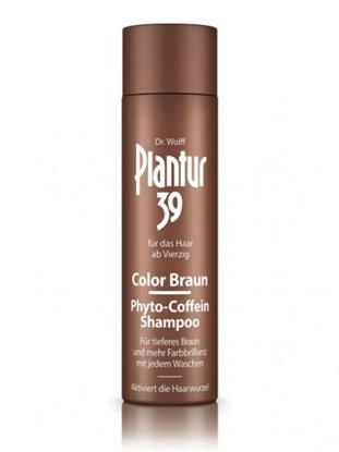 Obrázek Plantur 39 Color Brown Fyto-kofeinový šampon proti vypadávání a pro sytější hnědou barvu vlasů  250ml