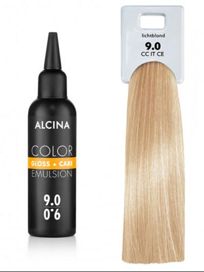 Obrázek Alcina - Tónovací emulze - Color Gloss + Care Emulsion 9.0 Jasná blond 100 ml
