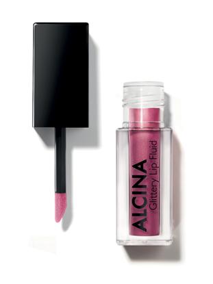 Obrázek Alcina - Třpytivý fluid na rty - Glittery Lip Fluid - Berry  1 ks