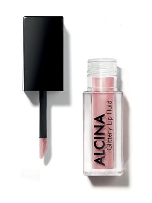 Obrázek Alcina - Třpytivý fluid na rty - Glittery Lip Fluid - Rose  1 ks