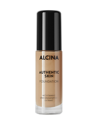 Obrázek Alcina - Krémový make-up - Authentic Skin Foundation medium 28,5 ml