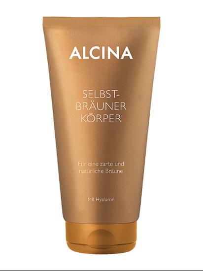 Obrázek Alcina - Samoopalovací tělový krém 150 ml